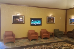 Lobby with our Logo