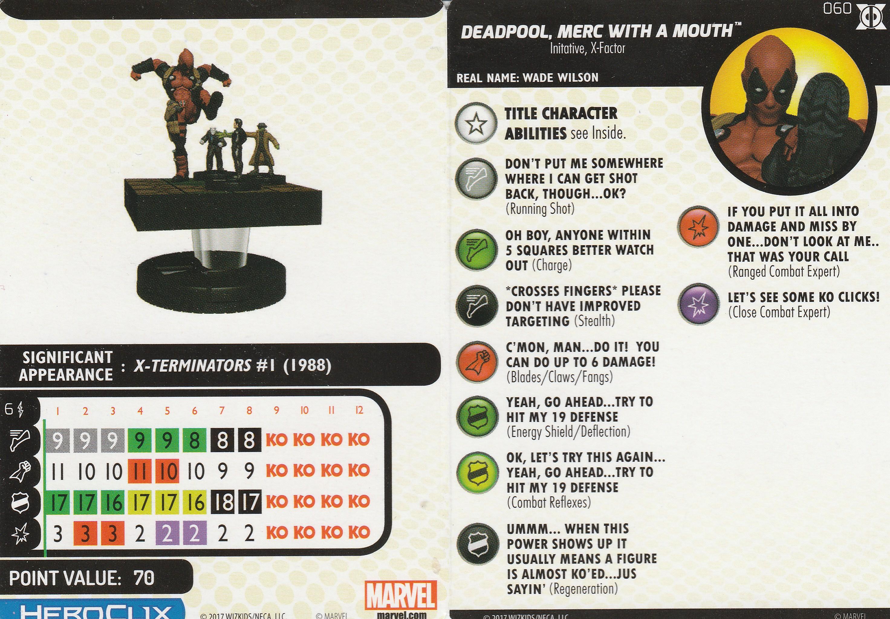 Clix O The Week Deadpool Merc With A Mouth Tiago Pinto Da Luz