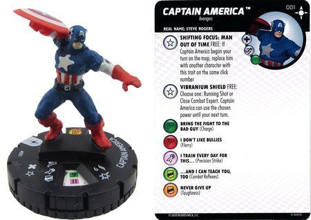CRYSTAR 025 Secret Wars Battleworld Marvel HeroClix